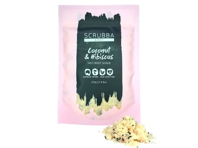 Coconut & Hibiscus Salt Body Scrub