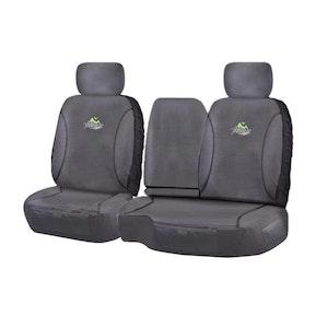Trailblazer Seat Covers For Toyota Landcruiser 100 Hzj-Fzj105R Series 1998-2015 | Charcoal
