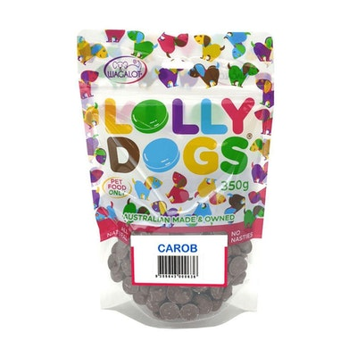 Lolly Dogs Carob Dog Treats 350g