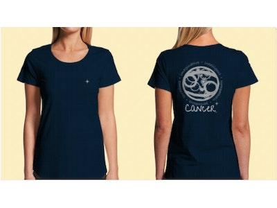Interstellar Beverages Horoscope [FEMALE] T-Shirt Cancer