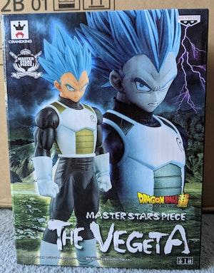 Dragon Ball Super: Resurrection 'F' - Super Saiyan Blue SSB Vegeta - MSP Master Star Piece Figure