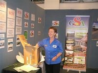 Gail from Adelaide Shores draws the BIG4 Cabins prize winner