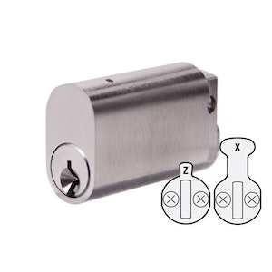 ABUS 50mm Extended Length Oval Cylinder