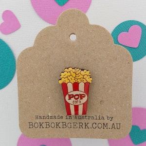 Popcorn Lapel Pin