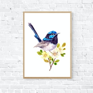 Dressed up in Blue - Limited Edition Print