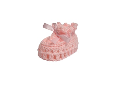 Wildchase Booties - Crocheted - Pink