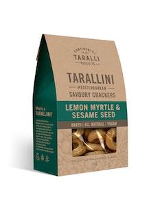 Tarallini - Lemon Myrtle & Sesame Seed 125g - NEW