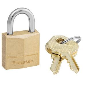 Master Lock 120D 19mm Wide Solid Brass Padlock