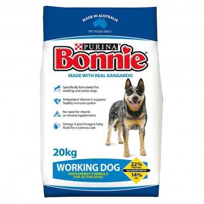 Bonnie Working Dog Adult Dry Dog Food 20kg