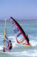 Windsurfing, Sandy Bay, courtesy Tourism WA