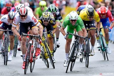 Die Tour de France in Bildern: 3. Etappe