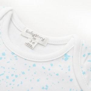 Babystory Singlet - Blue sparkle