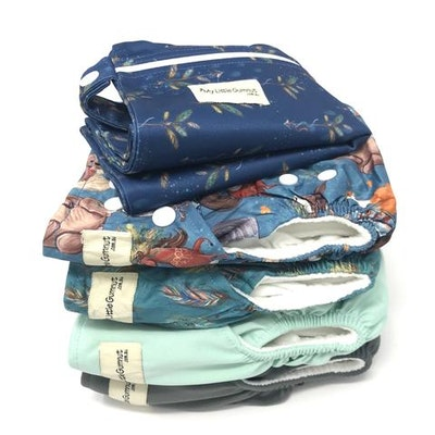 On Chic Baby Clothes Modern Cloth Nappy Trial Pack