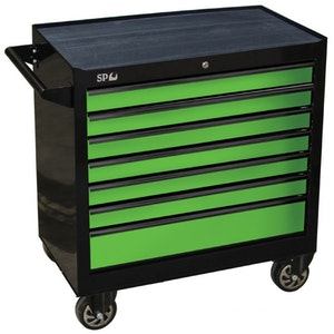 Tool Box Roller Cabinet 7 Drawer 853w x 459d x 779h (mm) SP40127