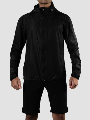 Black Sheep Cycling Adventure Splash Hoodie Jacket - Charcoal