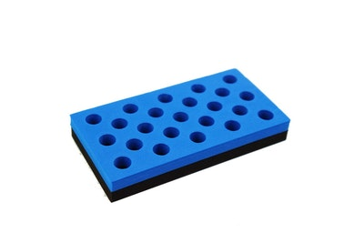 Holy Terror Block Blue with Holes