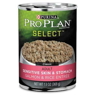 Pro Plan Sensitive Stomach & Skin Salmon & Rice Wet Dog Food 368G