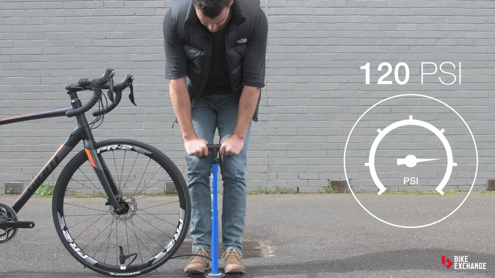 guide to road bike tyres pressure