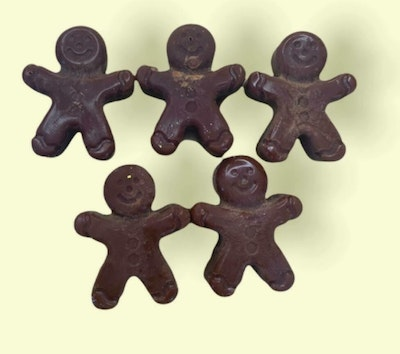 Dirty Bird Gifts THE SMELL OF XMAS GINGERBREAD! Ginger Bread Man Wax Melts - Pack of 3! 2021