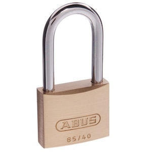 ABUS Brass Padlock 65/40 With 40mm Shackle KD