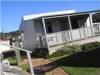 Beach Hut cabin Tathra Beach Holiday park 073