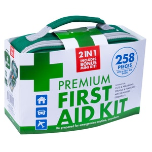 Boutique Medical 2x 258PCS PREMIUM FIRST AID KIT Medical Travel Set Emergency Family Safety Office