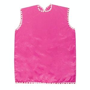 Silly Billyz Medium Sleeveless Pink Painting Apron