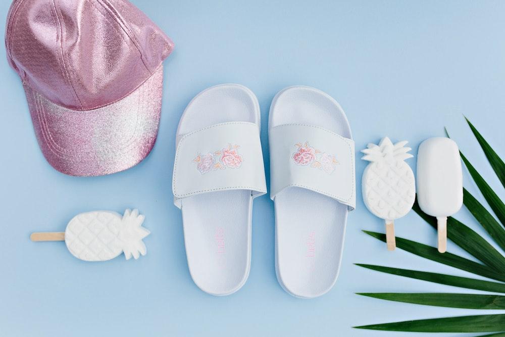 LENZO Betts Kids Summer Shoes Flatlay