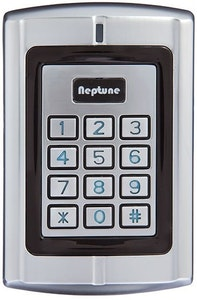 Neptune stand alone key pad EM, HID & Wiegand prox IP68 and vandal proof key pad