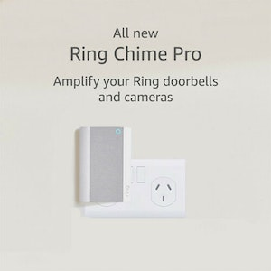 Ring Chime Pro Wi-Fi Extender and Nightlight -Indoor Chime for Ring Devices