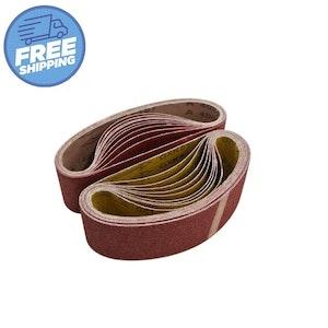Sanding Ceramic Belts 20 x 520mm - Packs of 10
