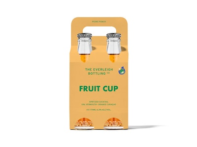 Fruit Cup Spritzed Cocktail - 24 pack
