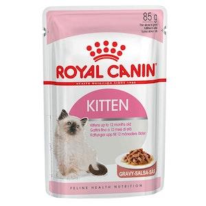 Royal Canin Health Nutrition Kitten Gravy 12 x 85g