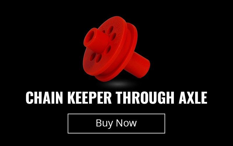 Chain Keeper Through Axle