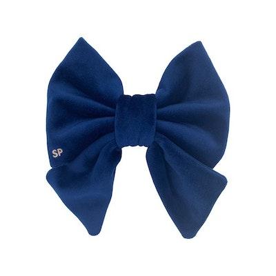 Swanky Paws Navy Blue Sailor Bow