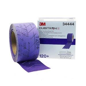 3M Clean Sanding Sheet Roll 120+, 70mm, 34444