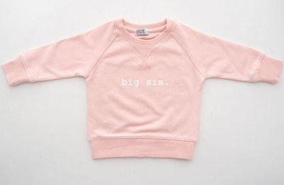 Big Sis Sweater - Pale Pink