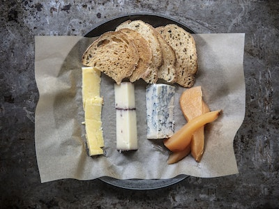 Formaggio, Selection of Cheese. Serves 2.