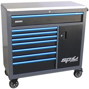 SP40119D Roller Cabinet 9 Drawer Custom Series SP40119D