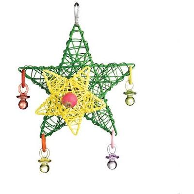 Kazoo Christmas Star Bird Toy