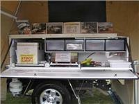 Heaslip  tray top camper will go anywhere the vehicle can