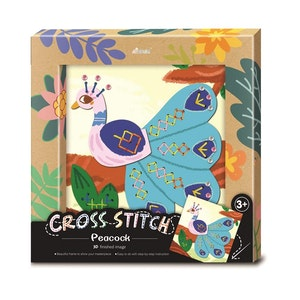 Avenir - Cross Stitch - Peacock