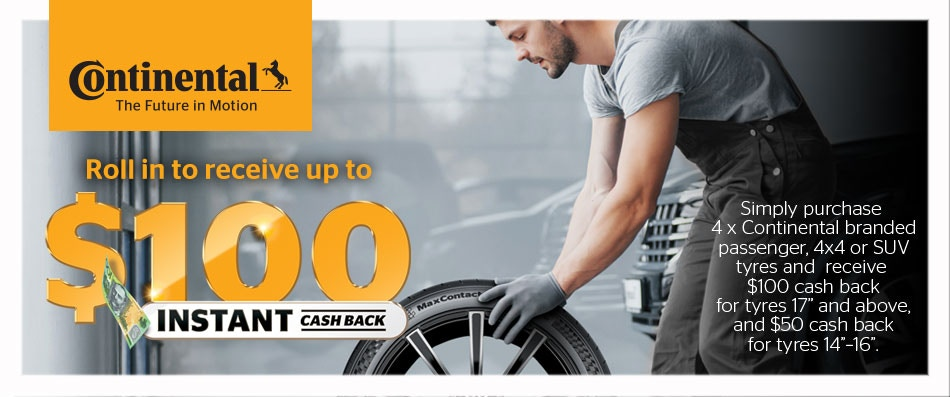 Continental Cash Back Promotion