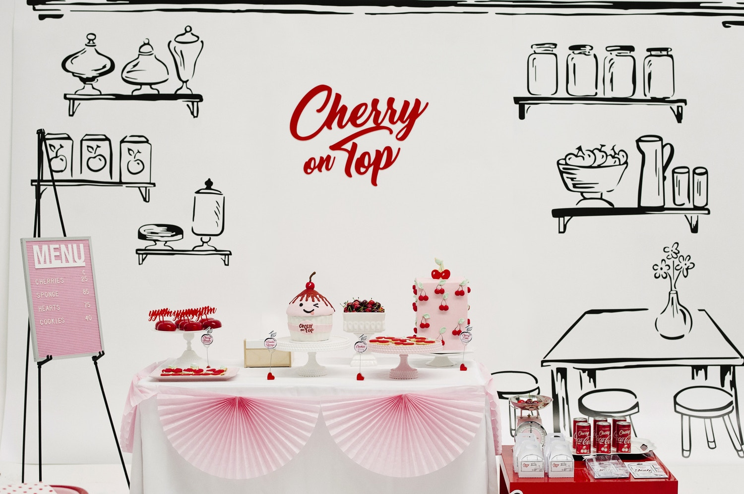 CHERRY ON TOP STYLED SHOOT