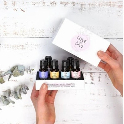 Love Thy Oils Pack of 6 Essential Oil Blends