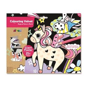 Avenir - Velvet Giant Poster - Magical Unicorn World