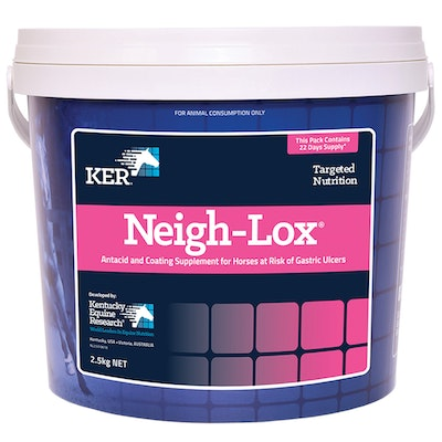 KENTUCKY EQUINE RESEARCH Ker Equivit Neigh-lox Horse Digestive Aid Feed Supplement 2.5kg