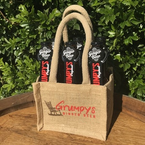 GRUMPY'S GINGER BEER - 6 PACK - Original
