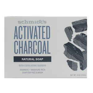 Boutique Medical SCHMIDT'S 142g NATURAL SOAP FOR FACE & BODY ACTIVATED CHARCOAL