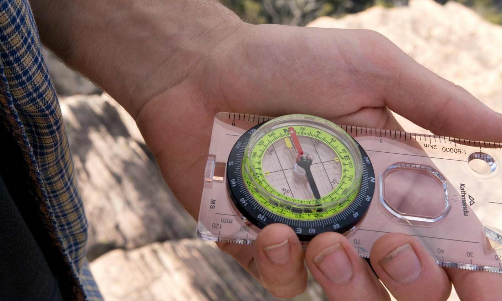 How to Find Yourself Using a Map & Compass